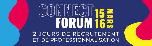 Bannière connect forum 2021
