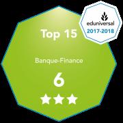 Le Bachelor Banque est 6e au classement SMBG