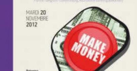 Affiche Les Mardis de la Finance - ESGF - Ecole spécialisée en finance