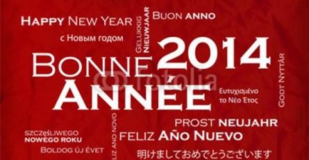 Bonne année 2014 de l'ESGF