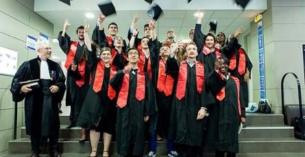 Les diplômés bachelor ESGF 2014