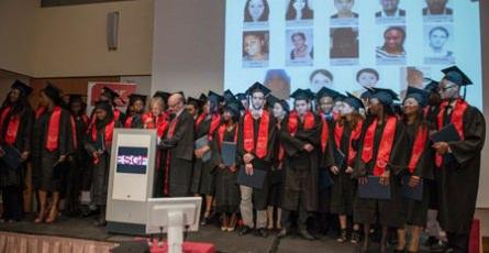 Gala de remise des diplômes de l'ESGF 2015