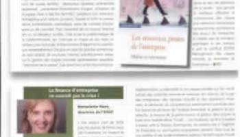 Article sur l'ESGF et la finance d'entreprise dans l'Officiel Studyrama