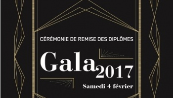 Gala de remise des diplômes 2017 de l'ESG FINANCE